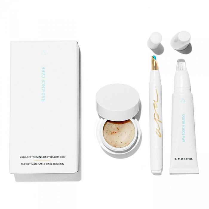 Apa white beauty radiance at home care kit